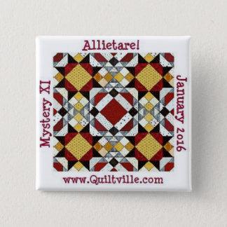Allietare Knopf Quadratischer Button 5,1 Cm