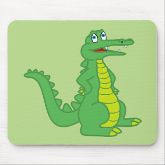 Alligator scherzt Mausunterlage Mousepad