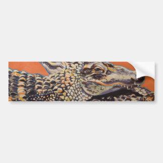 Alligatoren Autoaufkleber