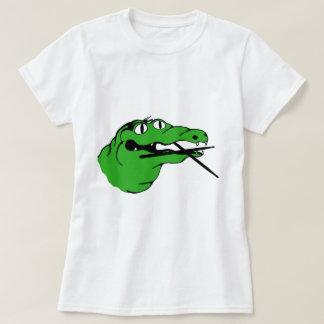 Alligatorgang SCHLAGZEUGER kein Titel T-Shirt