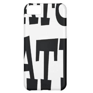 AlligatorHasser-Schwarzentwurf iPhone 5C Hülle