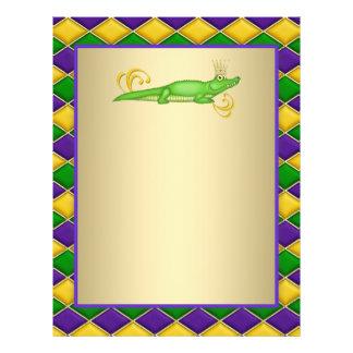 Alligatorkarneval 21,6 X 27,9 Cm Flyer