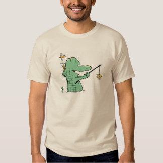 Alligatorluft-Boots-Comic-Shirt Shirts