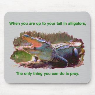 Alligatormousepad Mousepad