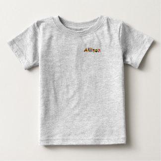 Allison-Baby-Geldstrafe-Jersey-T - Shirt