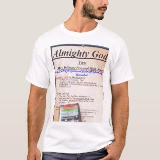 Allmächtige vertrauteste persönliche heilige Namen T-Shirt