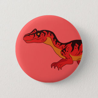 Allosaurus Runder Button 5,1 Cm