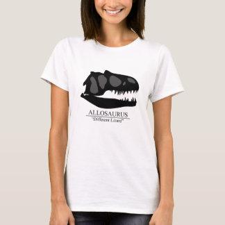 Allosaurus-Schädel T-Shirt