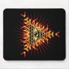 Allsehendes Auge Gottes, Pyramide, Vorsehung Mousepad
