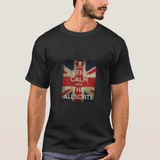 Allsorts-T-Shirt - behalten Sie Ruhe T-Shirt