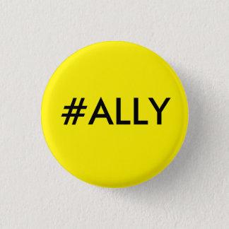 #ALLY RUNDER BUTTON 3,2 CM