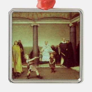 Alma-Tadema | Bildung der Kinder von Clothilde Silbernes Ornament