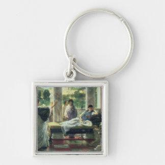 Alma-Tadema | Catullus, das seine Gedichte liest Schlüsselanhänger