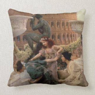Alma-Tadema | das Kolosseum, 1896 Kissen