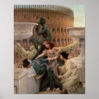 Alma-Tadema   das Kolosseum, 1896 Poster