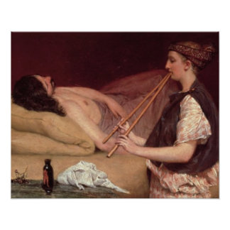 Alma-Tadema   der Siesta, 1868 Poster