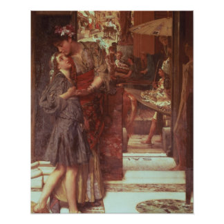Alma-Tadema   die Abfahrt, 1880 Poster