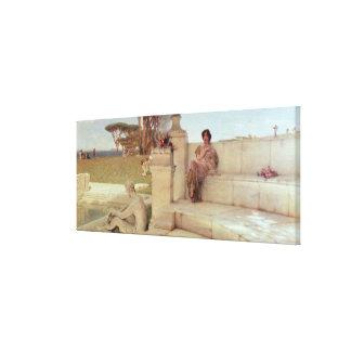Alma-Tadema   die Stimme von Spring, 1908 Leinwanddruck