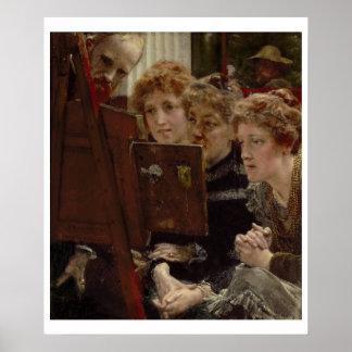 Alma-Tadema   ein Familien-Gruppe, 1896 Poster