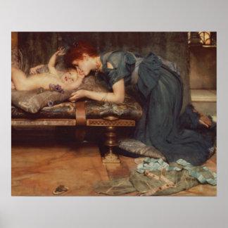 Alma-Tadema   ein irdisches Paradies, 1891 Poster