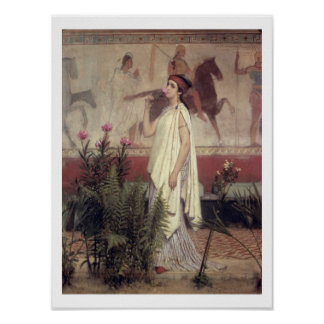 Alma-Tadema   eine griechische Frau, 1869 Poster
