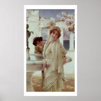 Alma-Tadema   eine Meinungsverschiedenheit Poster