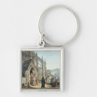 Alma-Tadema | Faust und Gänseblümchen, 1857 Schlüsselanhänger