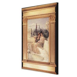 Alma-Tadema   flüsternder Mittag, 1896 Leinwanddruck