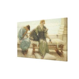 Alma-Tadema   fragen mich nicht mehr, 1886 Leinwanddruck