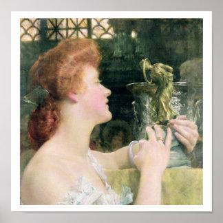 Alma-Tadema   goldene Hour, 1908 Poster