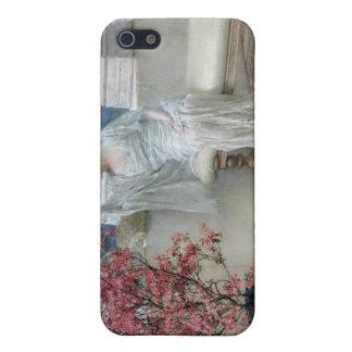 Alma-Tadema | ihre Augen sind mit ihrem thoughts� iPhone 5 Case