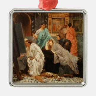 Alma-Tadema   Kollektor zu der Zeit Augustus Silbernes Ornament
