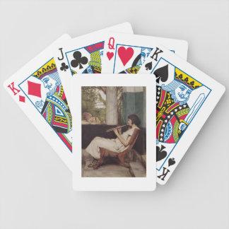 Alma-Tadema | Musik Hath Charme Bicycle Spielkarten