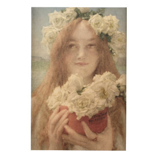 Alma-Tadema   Sommer anbietend, 1894 Holzdruck
