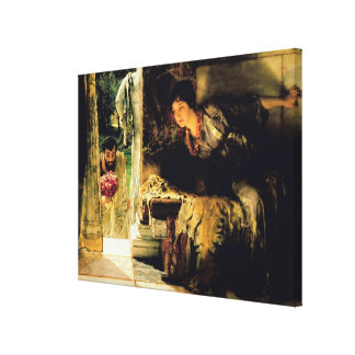 Alma-Tadema   willkommene Schritte, 1883 Leinwanddruck