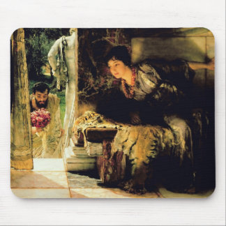 Alma-Tadema | willkommene Schritte, 1883 Mousepad