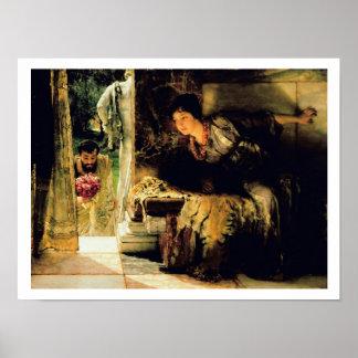Alma-Tadema   willkommene Schritte, 1883 Poster