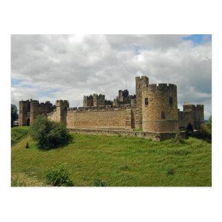 Alnwick-Schloss-Postkarte Postkarte