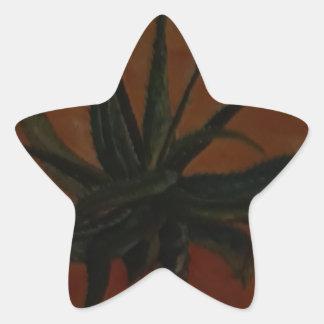 Aloe Stern-Aufkleber