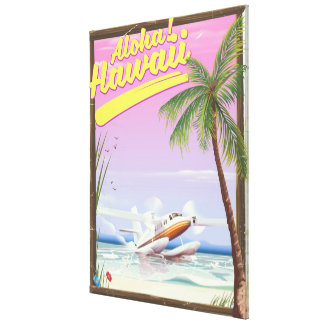 Aloha! Art-Reiseplakat Hawaiis Vintages Leinwanddruck