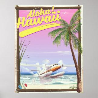 Aloha! Art-Reiseplakat Hawaiis Vintages Poster