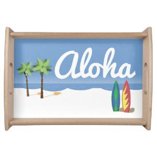 Aloha Brandung Tablett