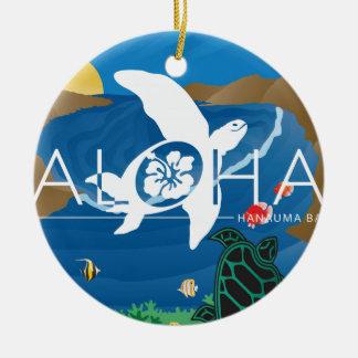 Aloha Bucht Hawaiis Hanauma Keramik Ornament