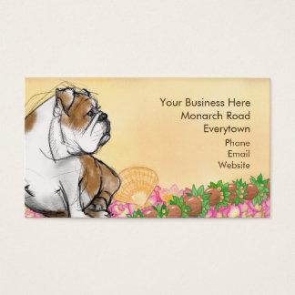 Aloha Bulldogge Visitenkarte
