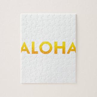 ALOHA Druck Mauis Hawaii Puzzle