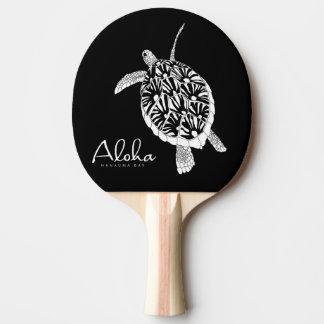 Aloha Hawaii-Insel-Schildkröte Tischtennis Schläger