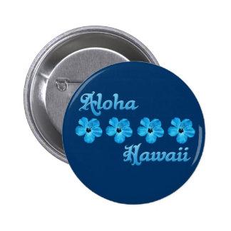Aloha Hawaii Runder Button 5,7 Cm