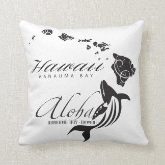 Aloha Hawaiiinseln und -wal Kissen