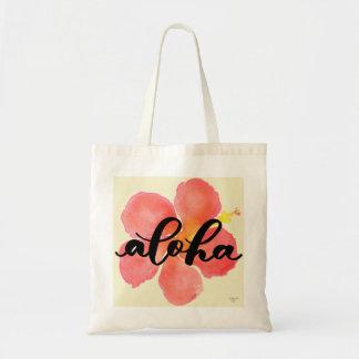 Aloha Hibiscus Tote Bag Tragetasche