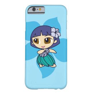 Aloha Honig hawaiisches Turq Hibiskus Hula Mädchen Barely There iPhone 6 Hülle